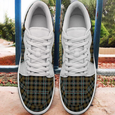 Image of Farquharson Weathered Tartan Low Sneakers (Women's/Men's) A7
