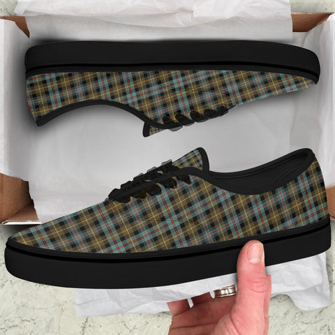 Farquharson Weathered Tartan Like Vans Lace Shoes (Women's/Men's) A7