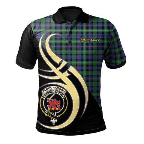 Farquharson Ancient Clan Believe In Me Polo Shirt