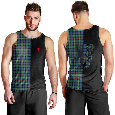 Image of Farquharson Ancient Clan Tank Top Lion Rampant