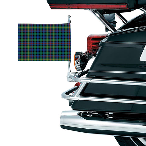 Image of Farquharson Ancient Clan Tartan Motorcycle Flag