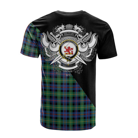 Farquharson Ancient Clan Military Logo T-Shirt K23