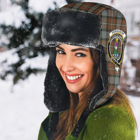 Fergusson Weathered Tartan Trapper Hat