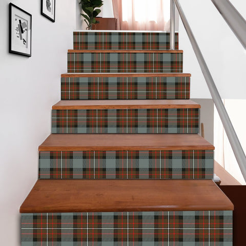 Scottishshop Tartan Stair Stickers - Fergusson Weathered Stair Stickers A91