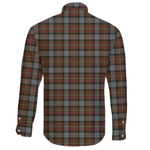 Fergusson Weathered Tartan Clan Long Sleeve Button Shirt A91
