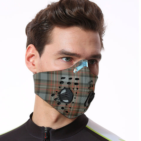 Image of Fergusson Weathered Tartan Dust-proof Sports Masks ( Model 1) - TH88