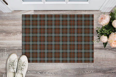 Fergusson Weathered Tartan Carpets Front Door A91