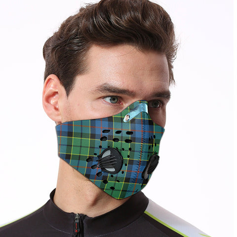 Forsyth Ancient Tartan Dust-proof Sports Masks ( Model 1) - TH88 (USA Shipping Line)
