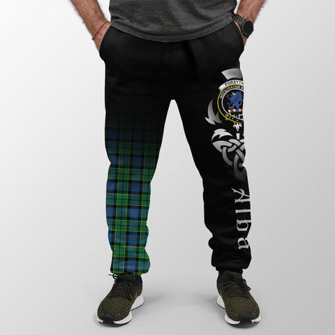 Image of Forsyth Ancient Crest Tartan Alba Celtic Jogger A30
