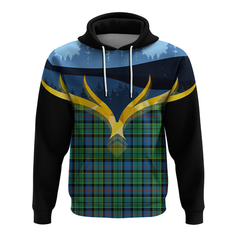 Forsyth Ancient Clan Night of Deer Hoodie