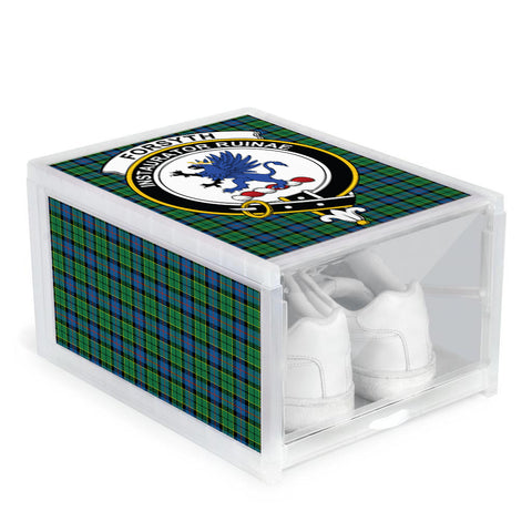 Forsyth Ancient Clan Crest Tartan Scottish Shoe Organizers