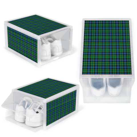 Forsyth Ancient Clan Tartan Scottish Shoe Organizers K9