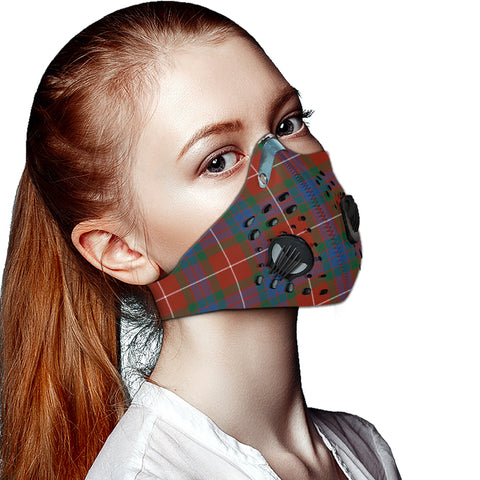 Fraser Ancient Tartan Dust-proof Sports Masks ( Model 1) - TH88 (USA Shipping Line)