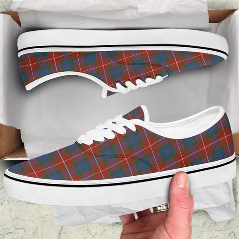 Image of Fraser Ancient Tartan Like Vans Lace Shoes (Women's/Men's) A7