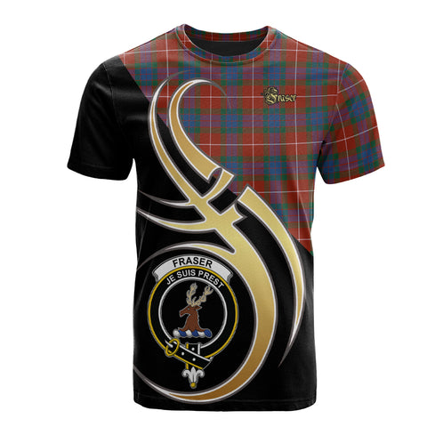 Fraser Ancient Clan Believe In Me T-Shirt
