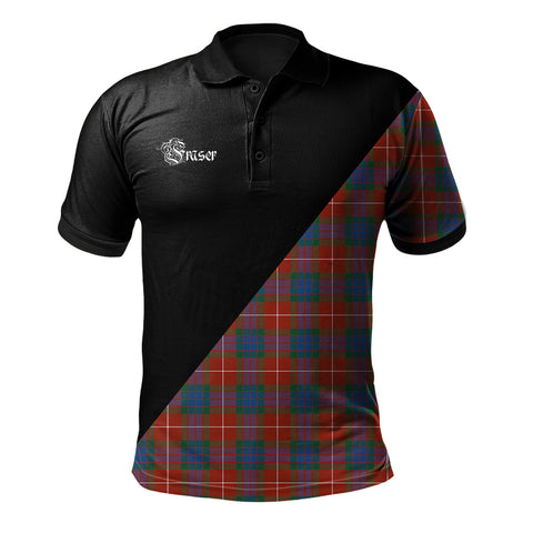 Fraser Ancient Clan Military Logo Polo Shirt