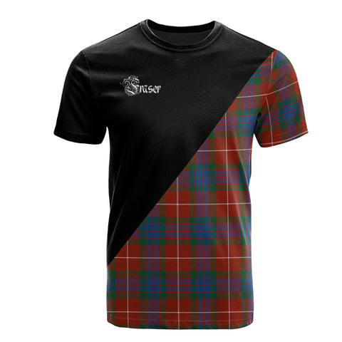 Fraser Ancient Clan Military Logo T-Shirt