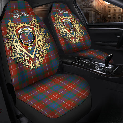 Fraser Ancient Clan Car Seat Cover Royal Sheild