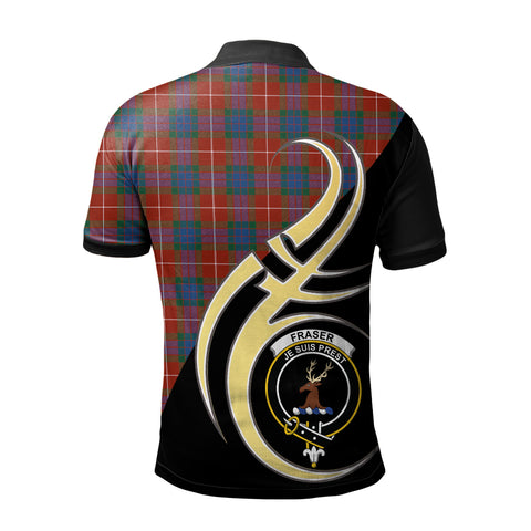 Fraser Ancient Clan Believe In Me Polo Shirt