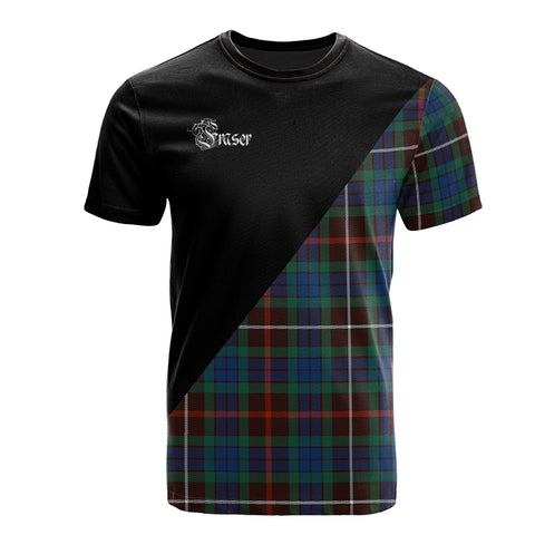 Fraser Hunting Ancient Clan Military Logo T-Shirt
