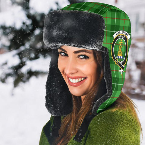 Image of Galloway District Tartan Trapper Hat