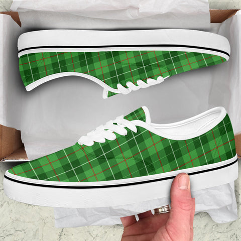 Image of Galloway District Tartan Like Vans Lace Shoes (Women's/Men's) A7