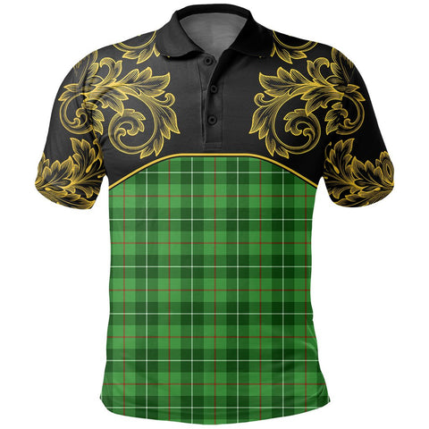 Image of Galloway District Tartan Clan Crest Polo Shirt - Empire I - HJT4 - Scottish Clans Store - Tartan Clans Clothing - Scottish Tartan Shopping - Clans Crest - Shopping In scottishclans - Polo Shirt For You