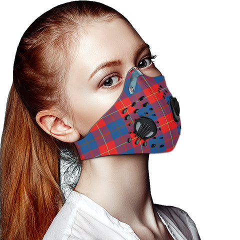 Galloway Red Tartan Dust-proof Sports Masks ( Model 1) - TH88 (USA Shipping Line)
