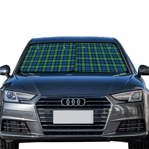 Gordon Ancient Clan Tartan Scotland Car Sun Shade 2pcs