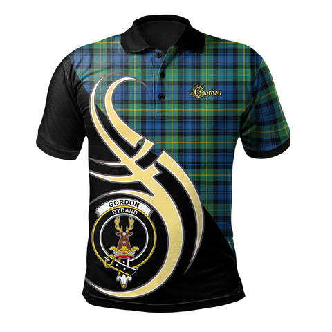 Image of Gordon Ancient Clan Believe In Me Polo Shirt