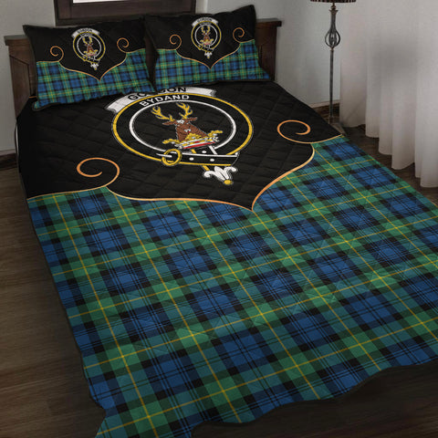 Image of Gordon Ancient Clan Cherish the Badge Quilt Bed Set