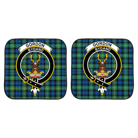Gordon Ancient Clan Crest Tartan Scotland Car Sun Shade 2pcs K7