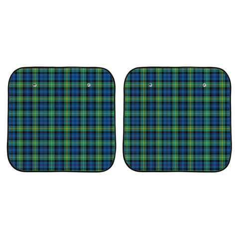 Gordon Ancient Clan Tartan Scotland Car Sun Shade 2pcs K7