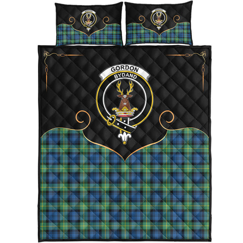 Gordon Ancient Clan Cherish the Badge Quilt Bed Set