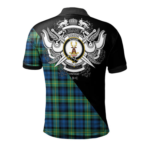 Image of Gordon Ancient Clan Military Logo Polo Shirt K23