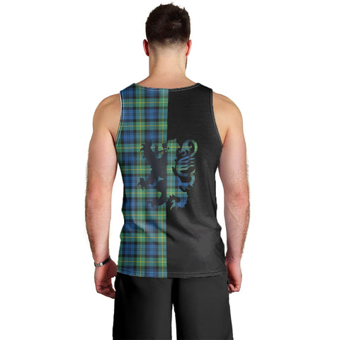 Gordon Ancient Clan Tank Top Lion Rampant