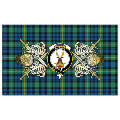 Tablecloth Gordon Ancient Clan Crest Courage Symbol Special Version