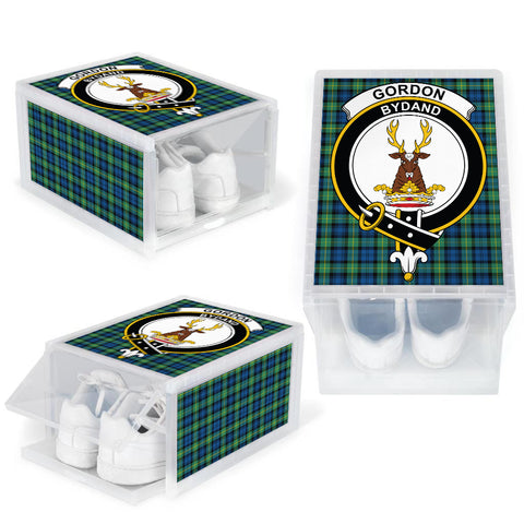 Gordon Ancient Clan Crest Tartan Scottish Shoe Organizers K9