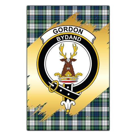 Garden Flag Gordon Dress Ancient Clan Gold Crest Gold Thistle