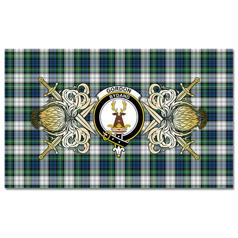 Tablecloth Gordon Dress Ancient Clan Crest Courage Symbol Special Version