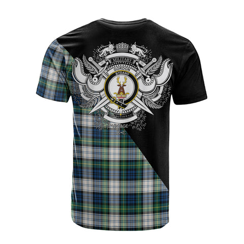 Gordon Dress Ancient Clan Military Logo T-Shirt K23