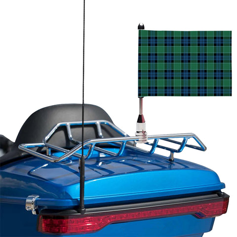 Graham of Menteith Ancient Clan Tartan Motorcycle Flag