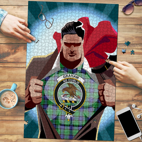 Graham of Menteith Modern Clan In Me Jigsaw Puzzle