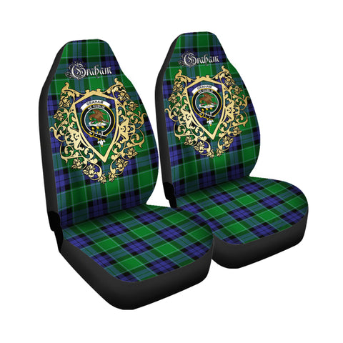 Graham of Menteith Modern Clan Car Seat Cover Royal Sheild