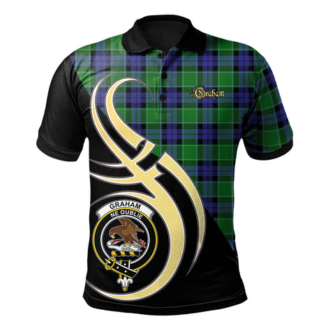 Graham of Menteith Modern Clan Believe In Me Polo Shirt