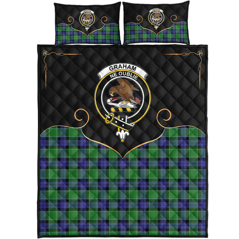 Graham of Menteith Modern Clan Cherish the Badge Quilt Bed Set
