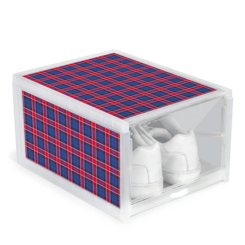 Graham of Menteith Red Clan Tartan Scottish Shoe Organizers
