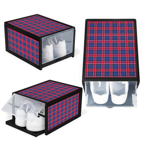 Graham of Menteith Red Clan Tartan Scottish Shoe Organizers K9
