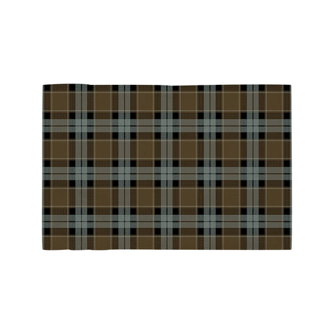 Image of Graham of Menteith Weathered Clan Tartan Motorcycle Flag