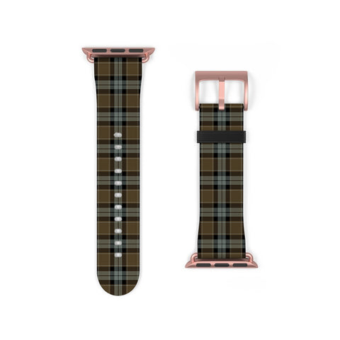 Graham of Menteith Weathered Scottish Clan Tartan Watch Band Apple Watch